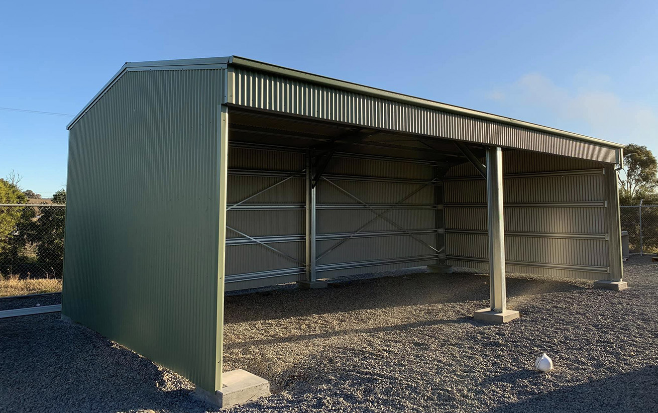 Open Bay Sheds